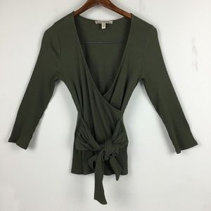 Express One Eleven Long Sleeve with Waist tie